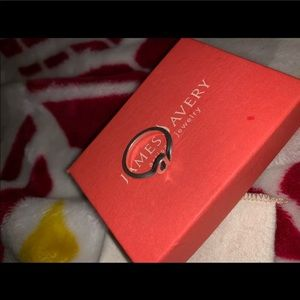 Size 8. James Avery letter 'a' ring
